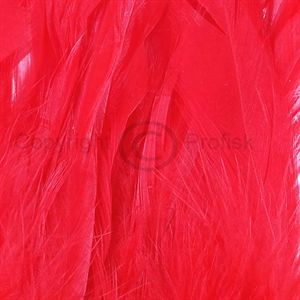 Schlappen feathers L Red