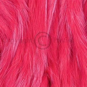 Rabbit Zonker Strips 3 mm. Red