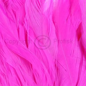 Schlappen feathers L Hot Pink