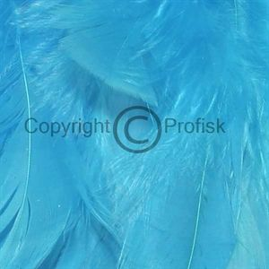 Schlappen feathers L Kingfisher Blue