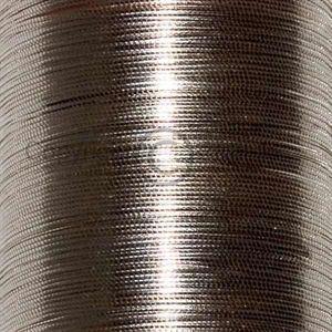 UTC tinsel oval XS. Silver