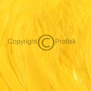 Schlappen feathers L Yellow