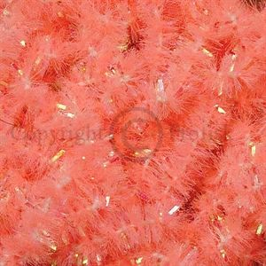 New Age Chenille Shell Shock Pink