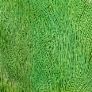 Deer Belly Hair Bright Green
