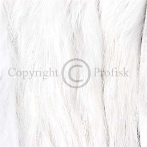 Rabbit Zonker Strips 3 mm. White