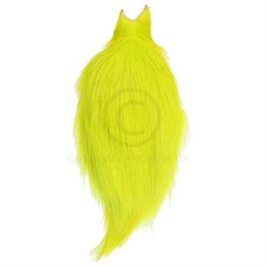Whiting Rooster Spey Bronze Cape Fl.Yellow Chartreuse (1/2 cape)